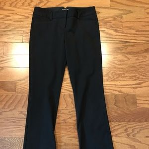 Express Columnist pants. Black. Size 25.